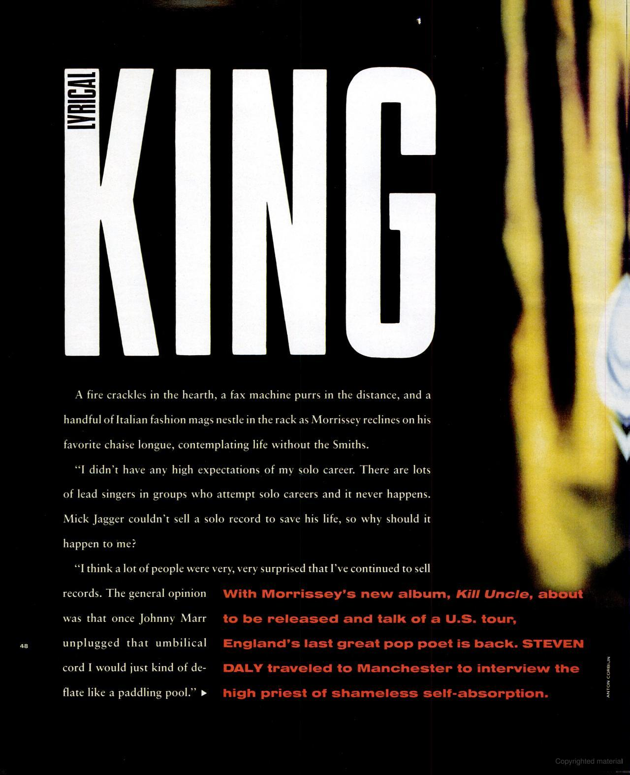 Morrissey ~ SPIN April 1991 Vol 7 No 1 (i).jpg