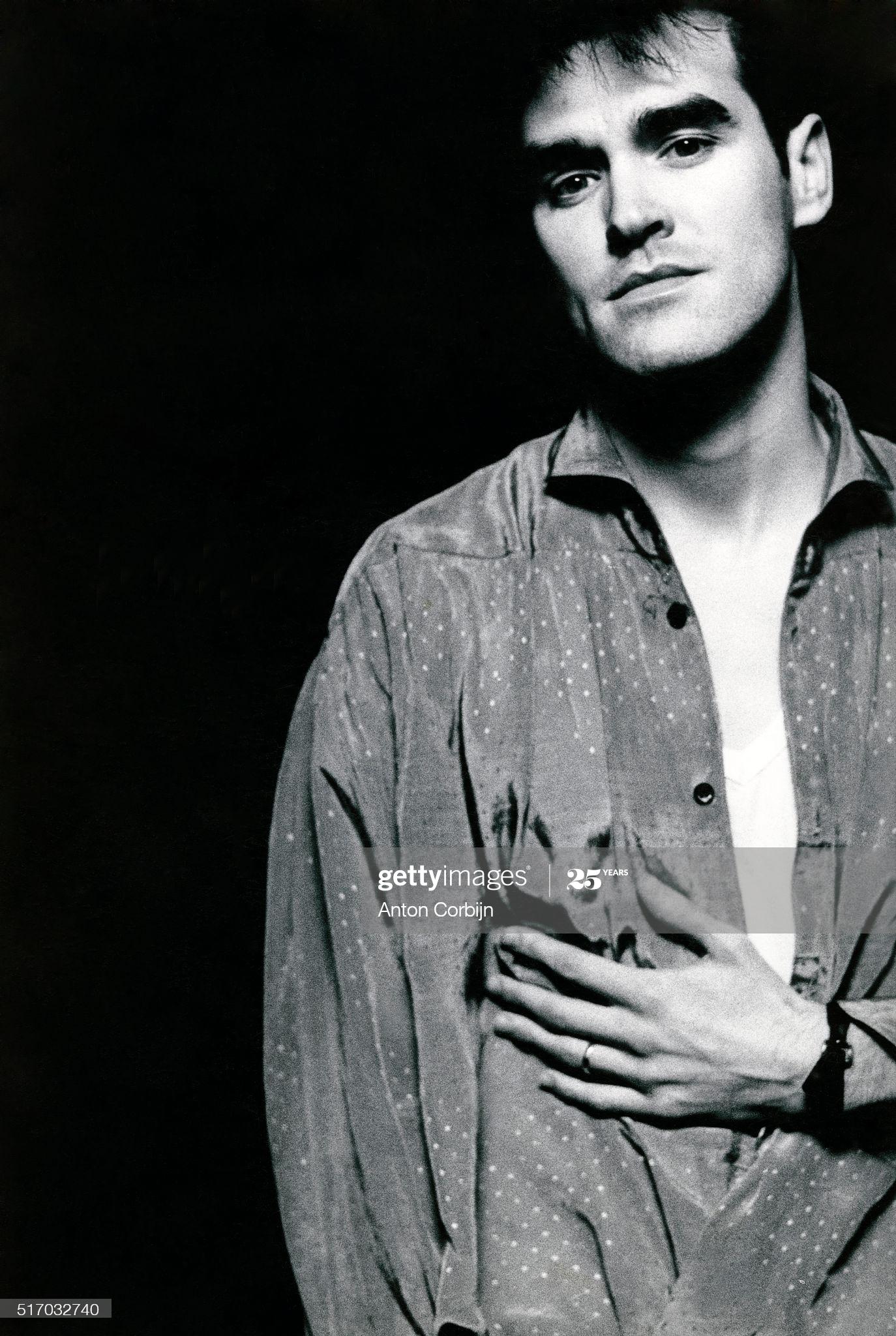 Morrissey, Liverpool, 23rd January 1984 (ii) ~ Anton Corbijn.jpg
