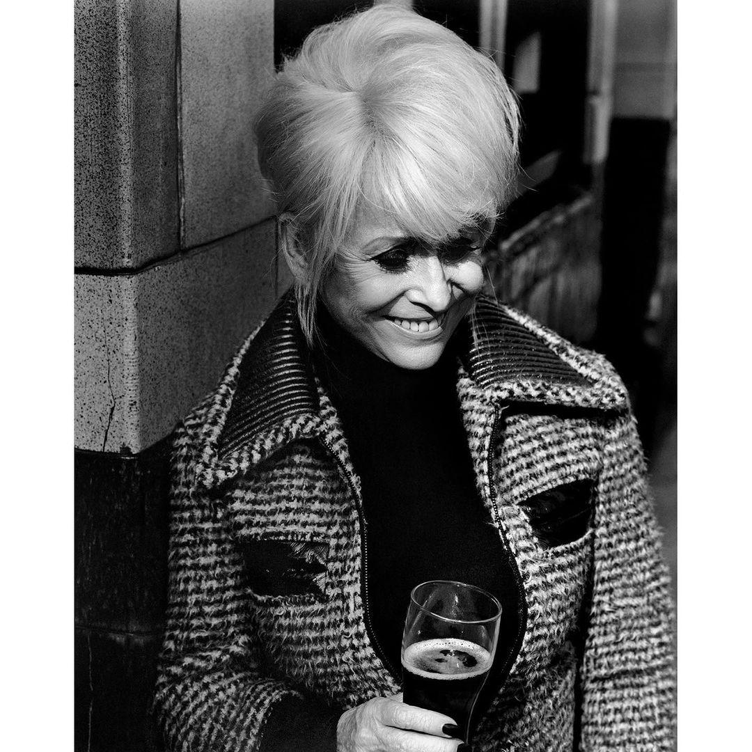 Barbara Windsor. Columbia Road, London, 2014 (i) ~ Alasdair McLellan.jpg