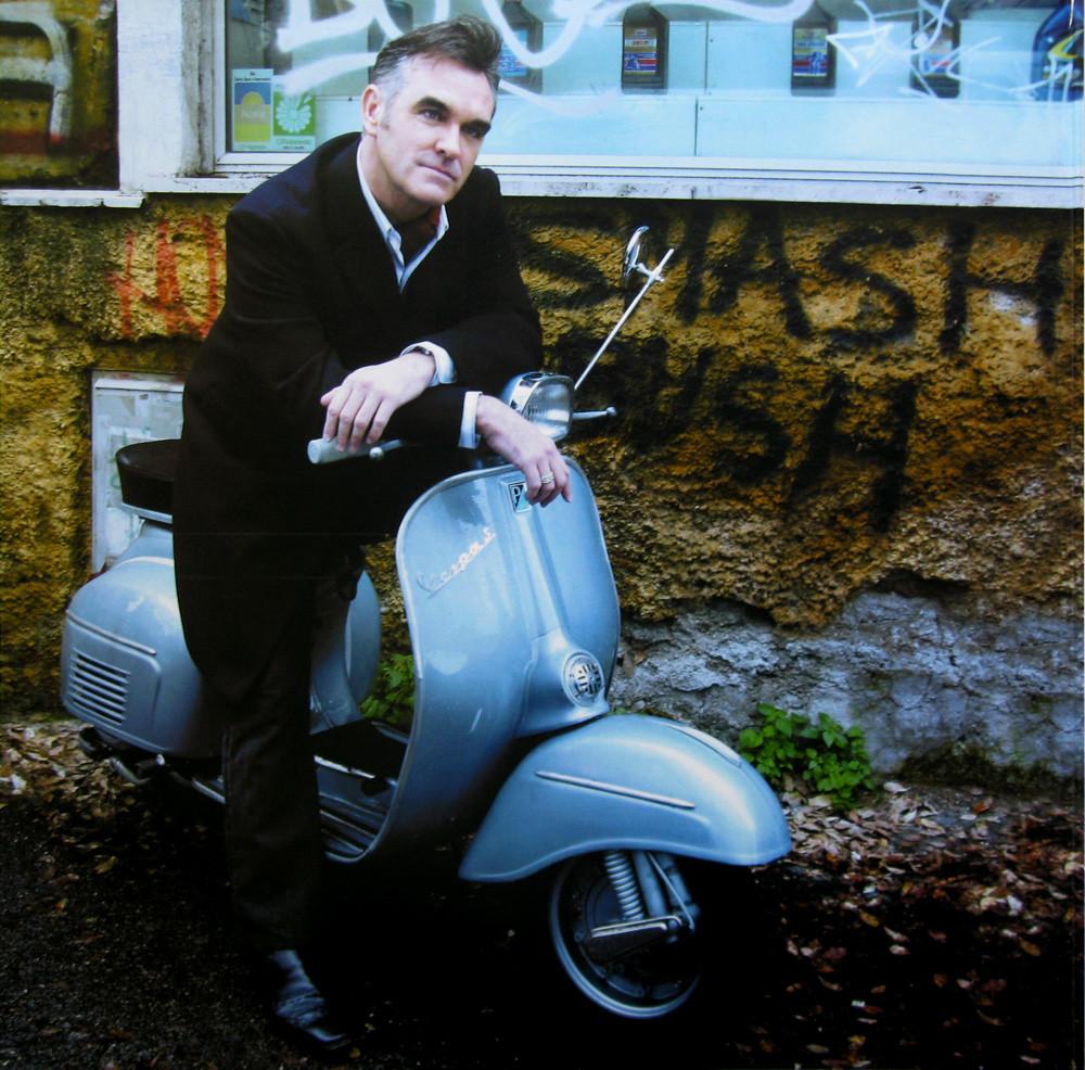 Morrissey Fabio Lovino scooter December 2015.jpg