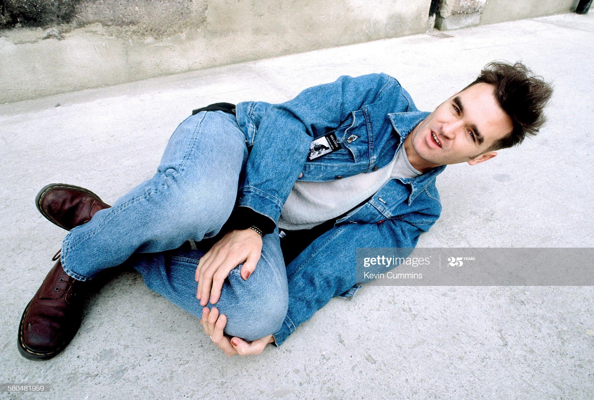 Morrissey ~ Dublin 27th April 1991 (i) Kevin Cummins.jpg