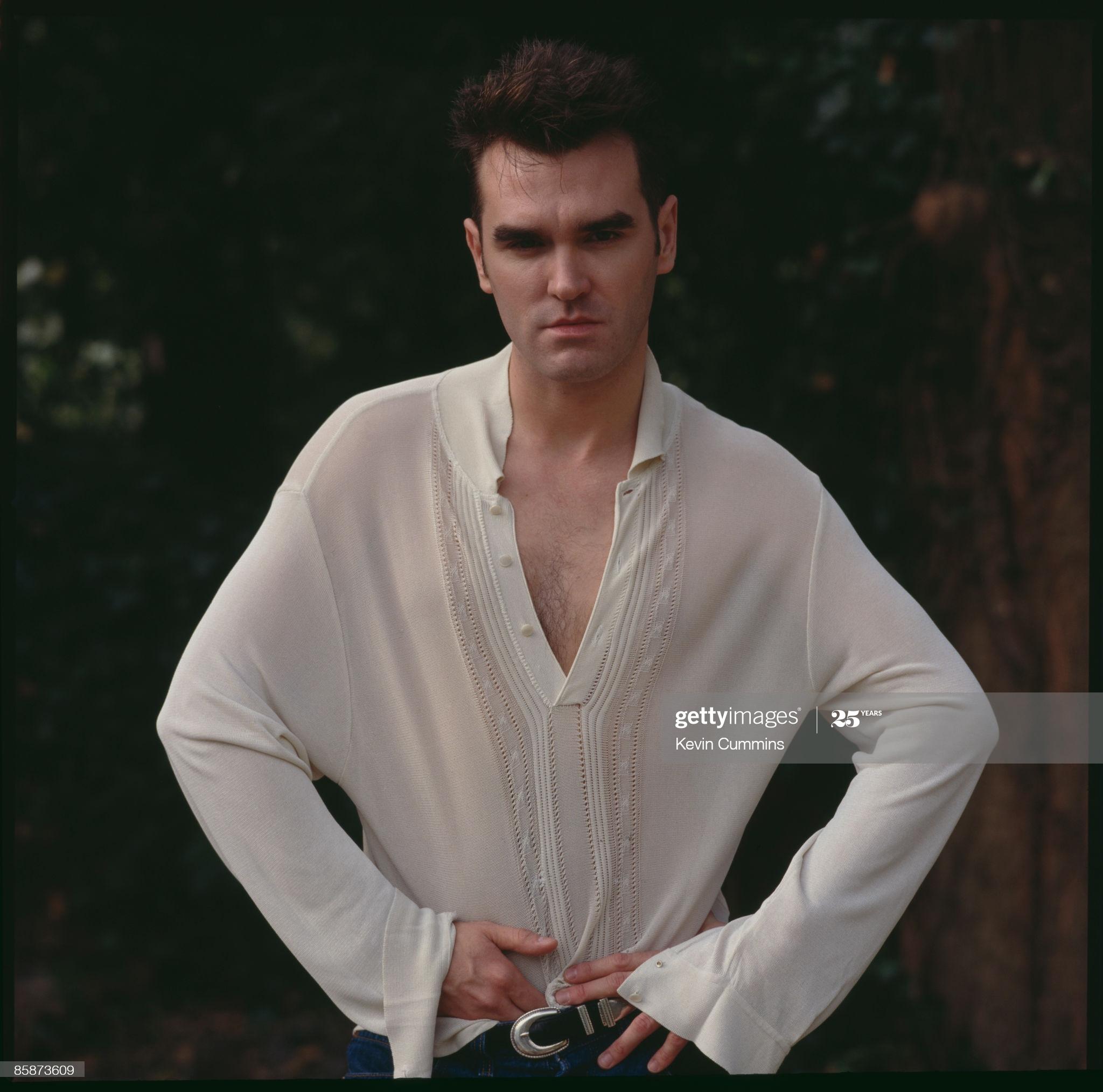 Morrissey ~ Bowdon, 5th September 1991 (v) Kevin Cummins.jpg