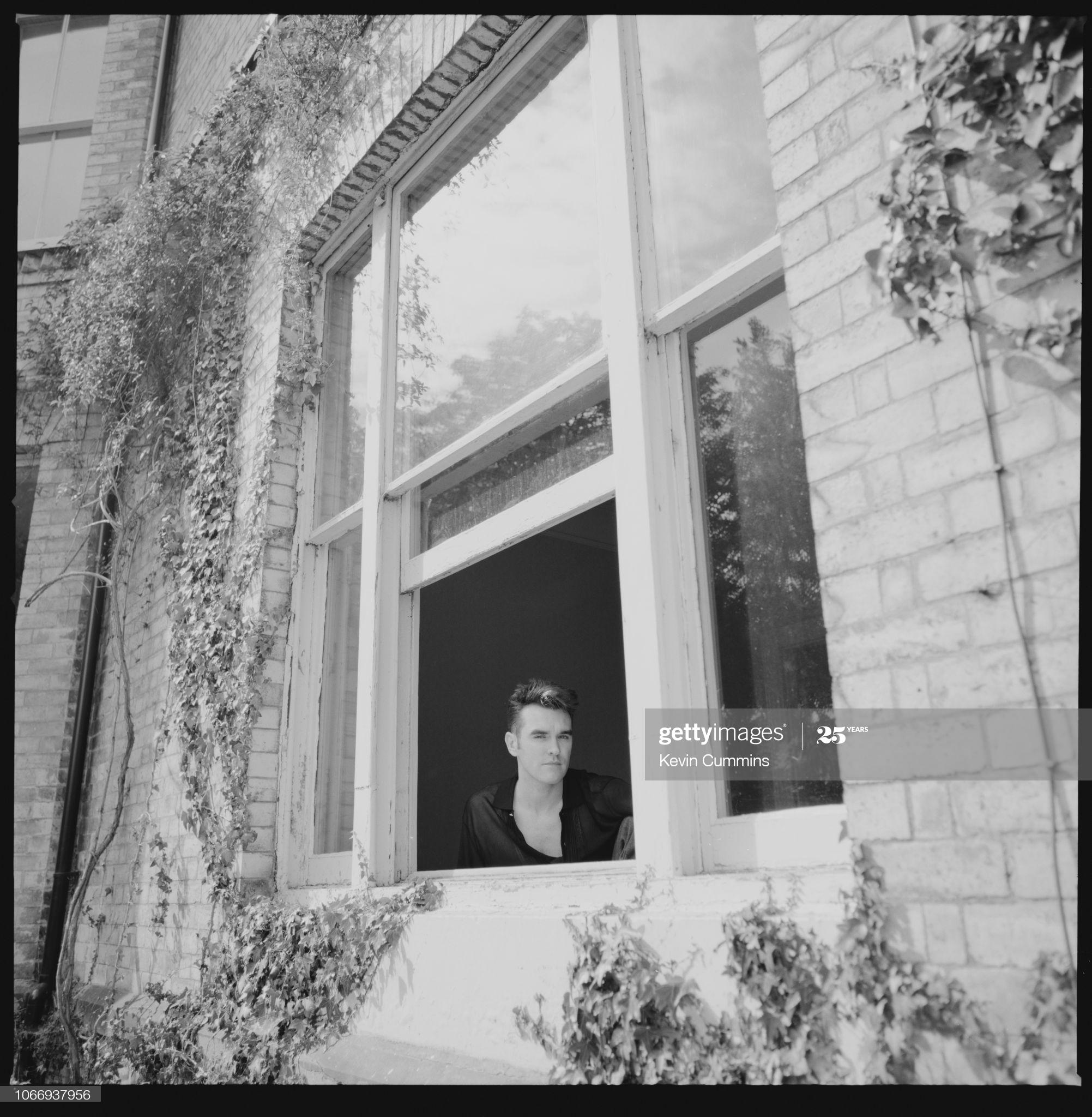 Morrissey ~ Bowdon, 5th September 1991 (ii) Kevin Cummins.jpg