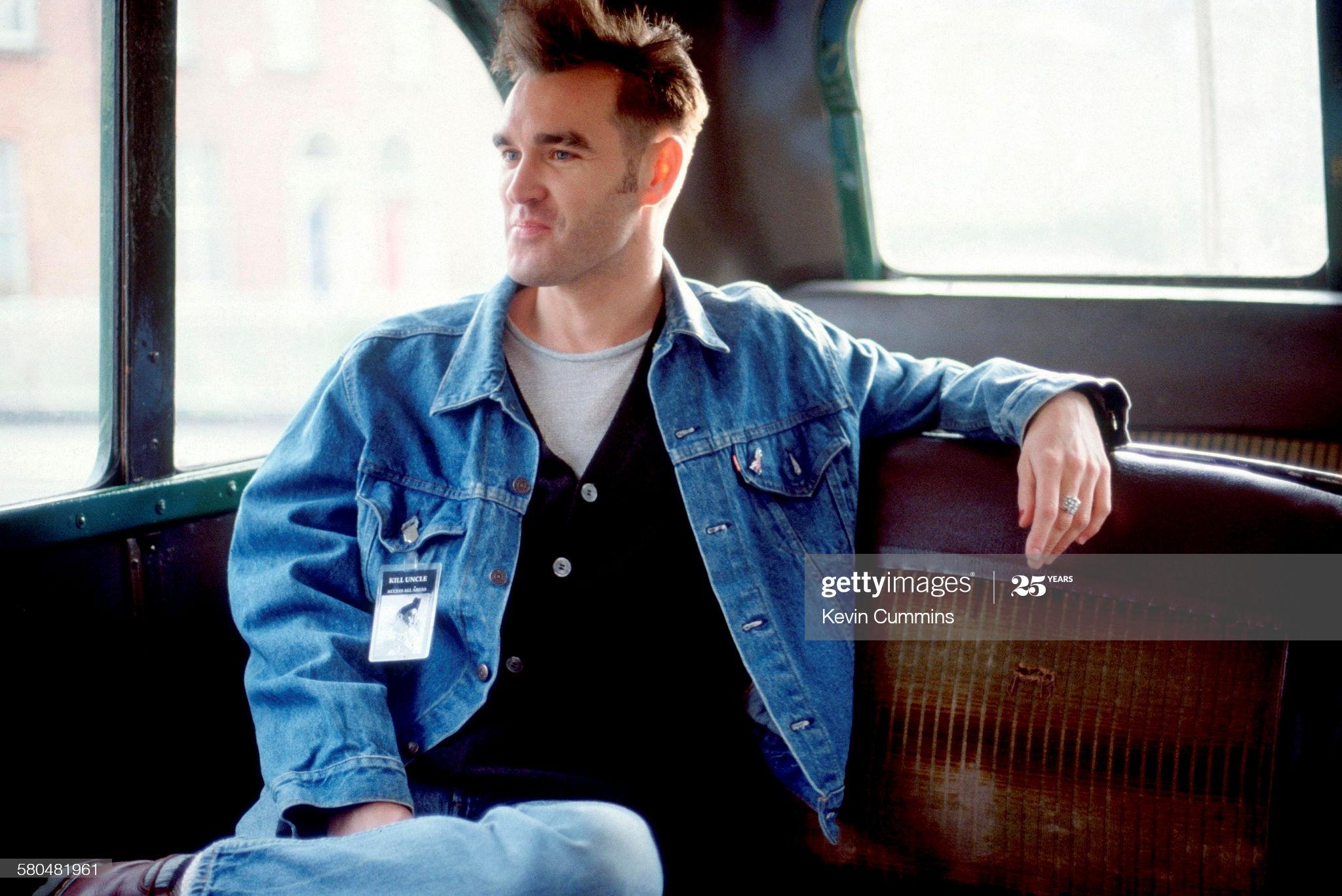 Morrissey ~ Dublin 27th April 1991 (v) Kevin Cummins.jpg