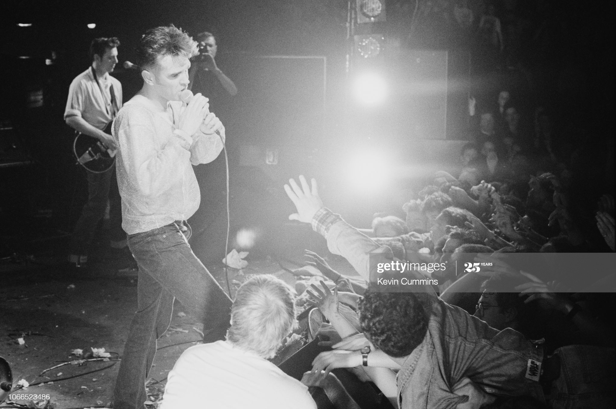 Morrissey ~ Dublin 27th April 1991 (iii) Kevin Cummins.jpg