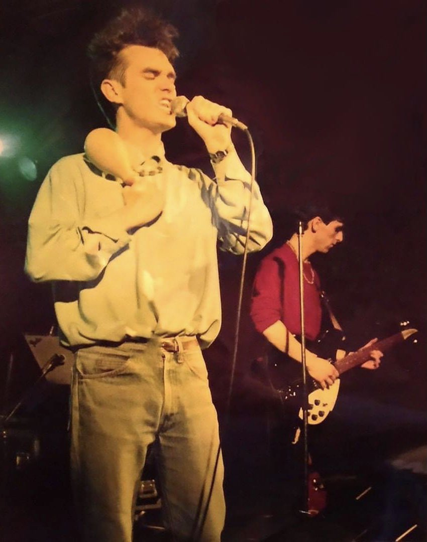 Morrissey Marr Hacienda 6th July 1983.jpg