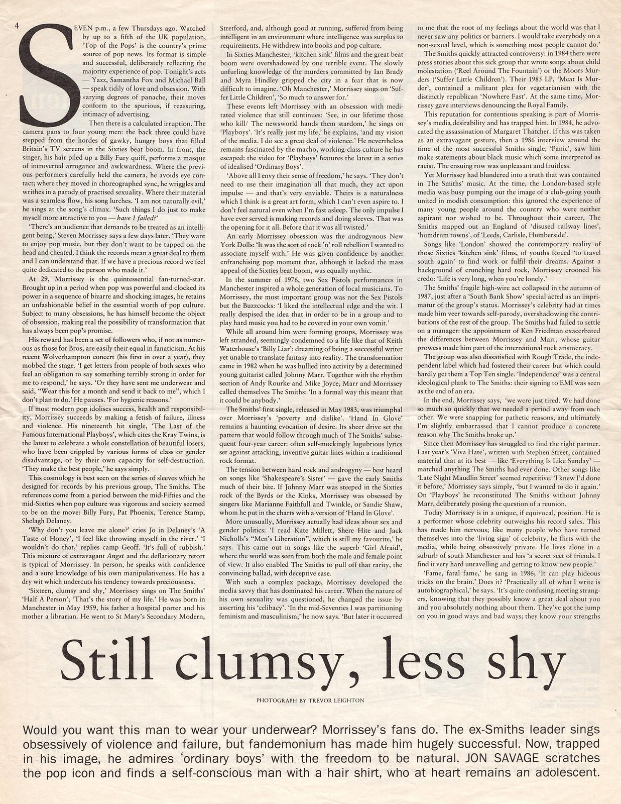 Morrissey Observer March 1989 p1.jpg