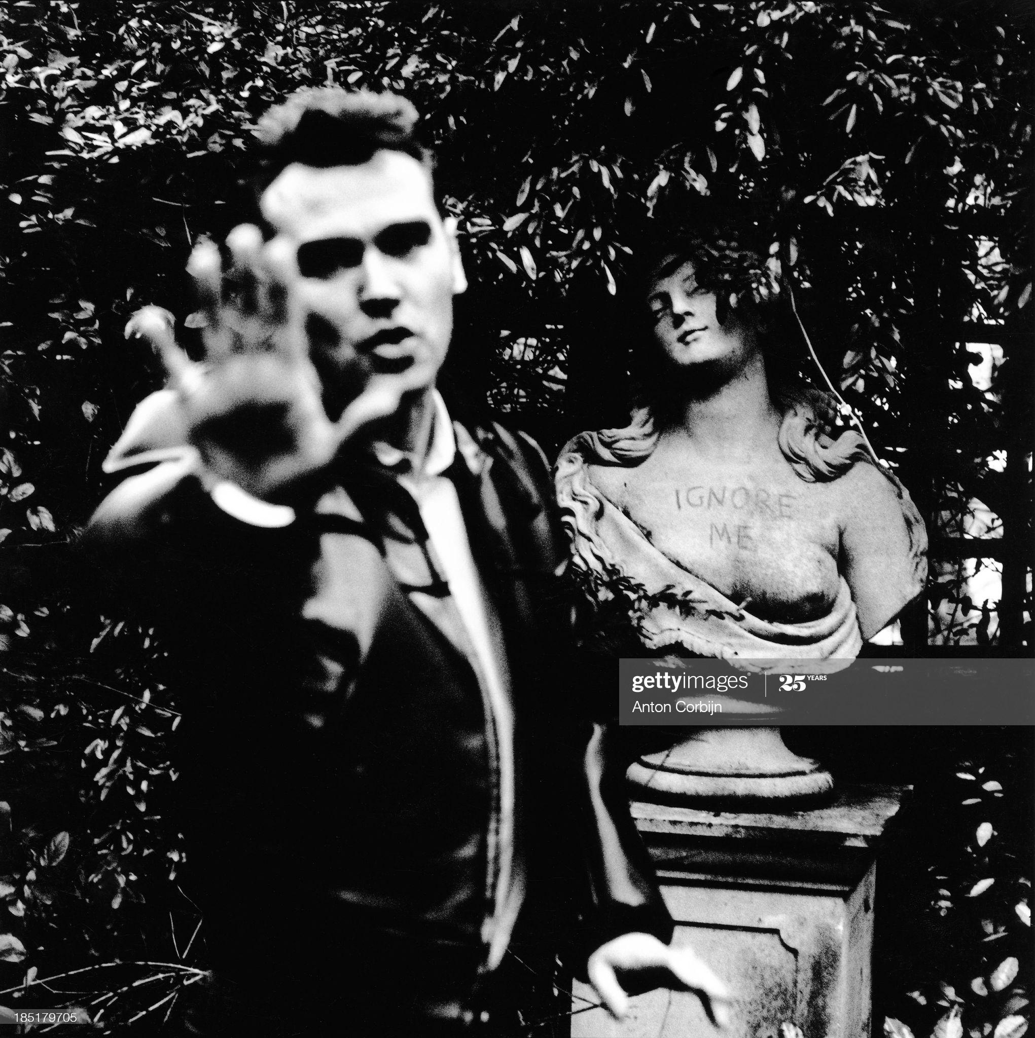 Morrissey, Primrose Hill, 17th January 1994 (i) ~ Anton Corbijn.jpg