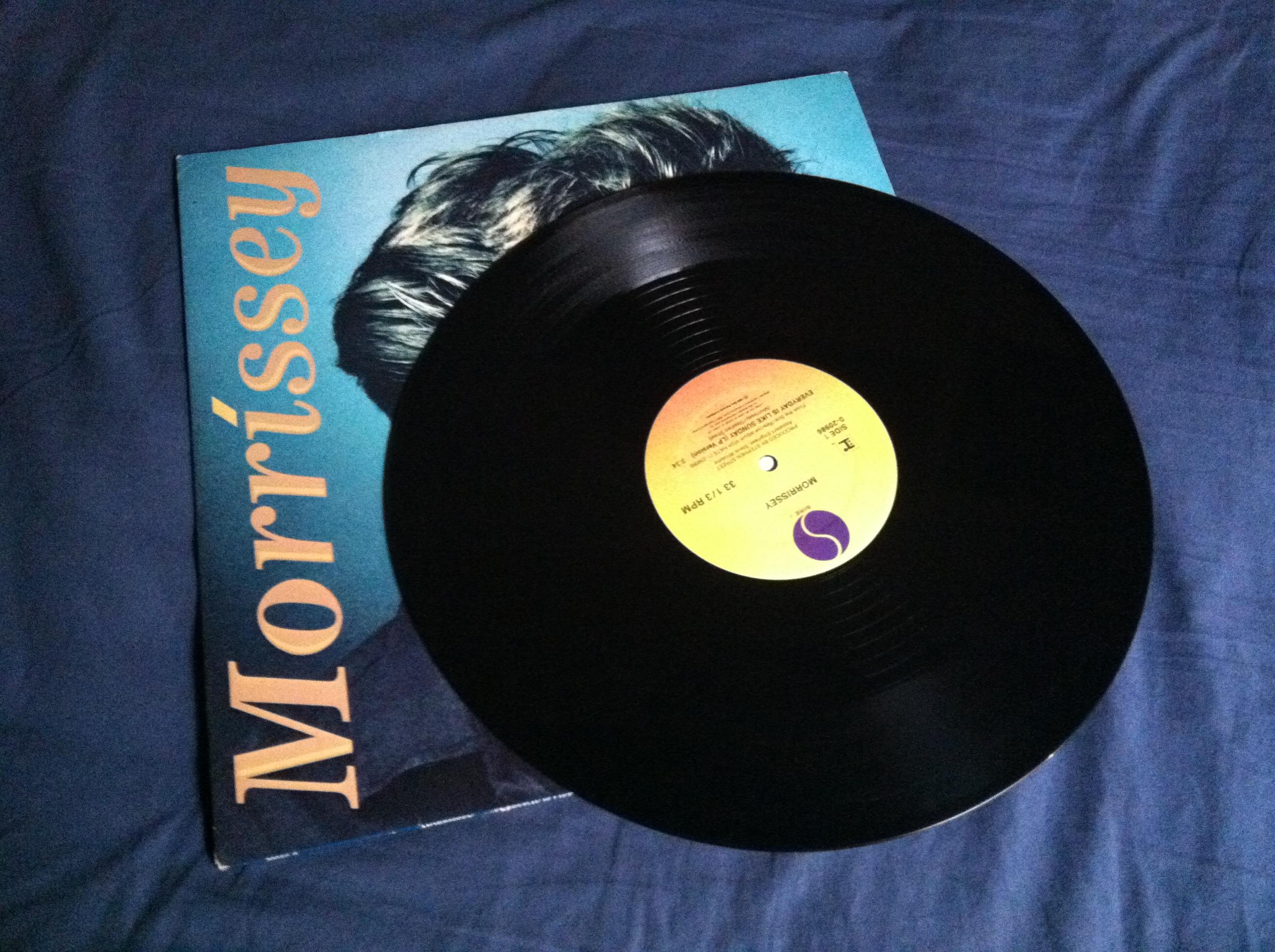 Morrissey - Everyday Is Like Sunday (warp).JPG