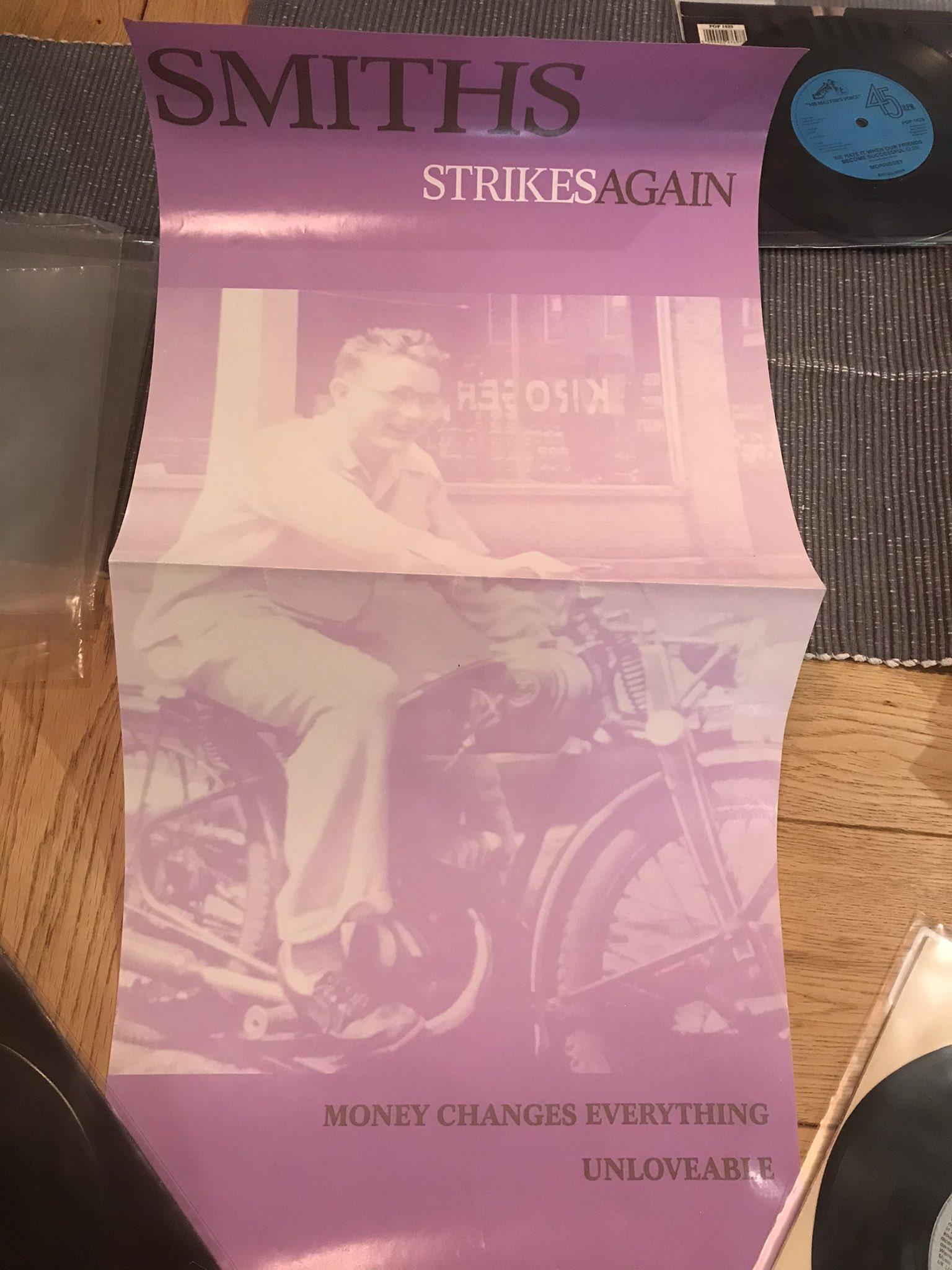 Smiths Bigmouth Strikes Again poster rarity.jpg