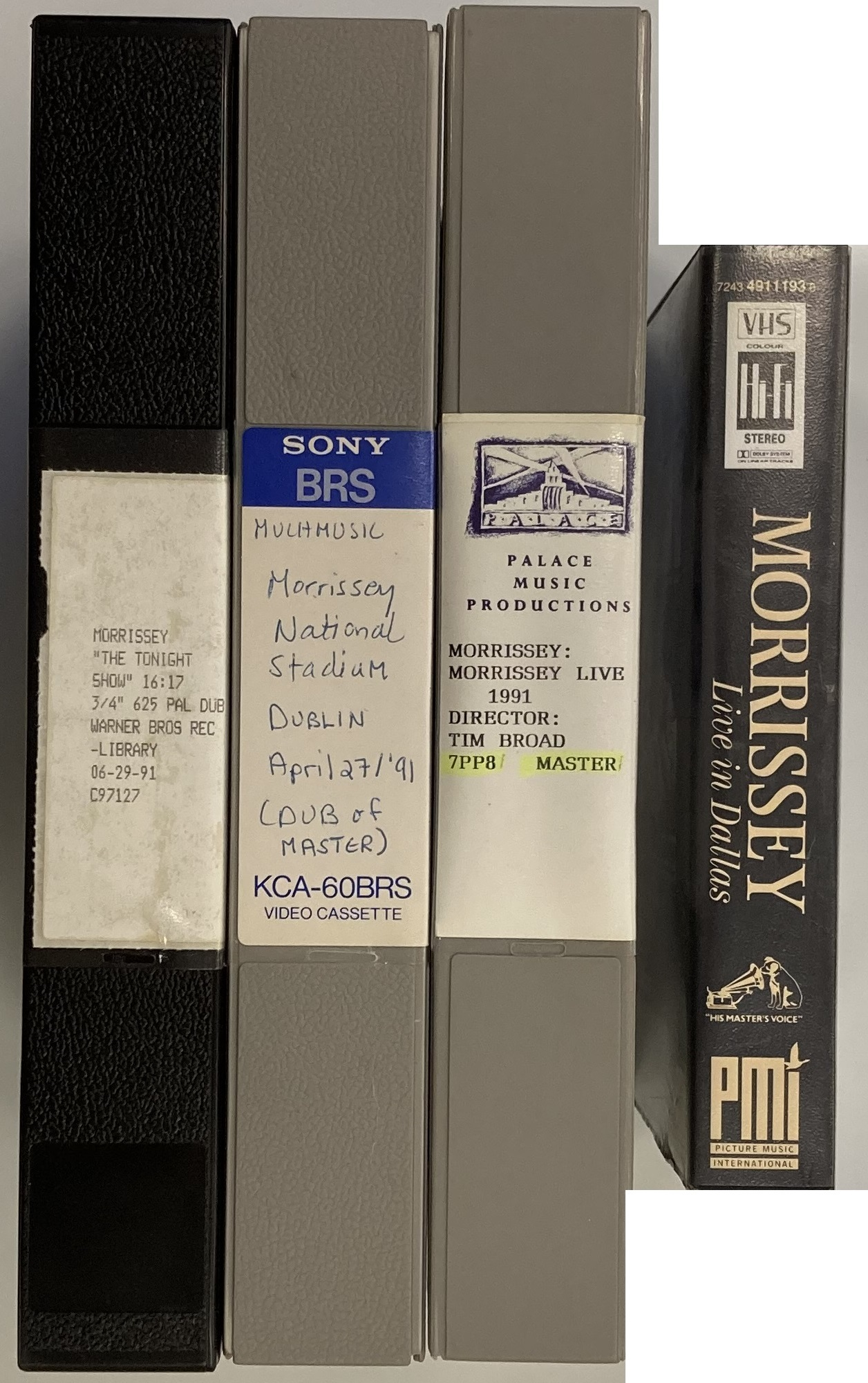 ROUGH TRADE ARCHIVE - MORRISSEY U-MATIC AND VHS RECORDINGS Lot 452 (i).jpg