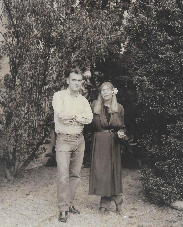 Morrissey Joni ~ Robert Maxwell 1997.jpg