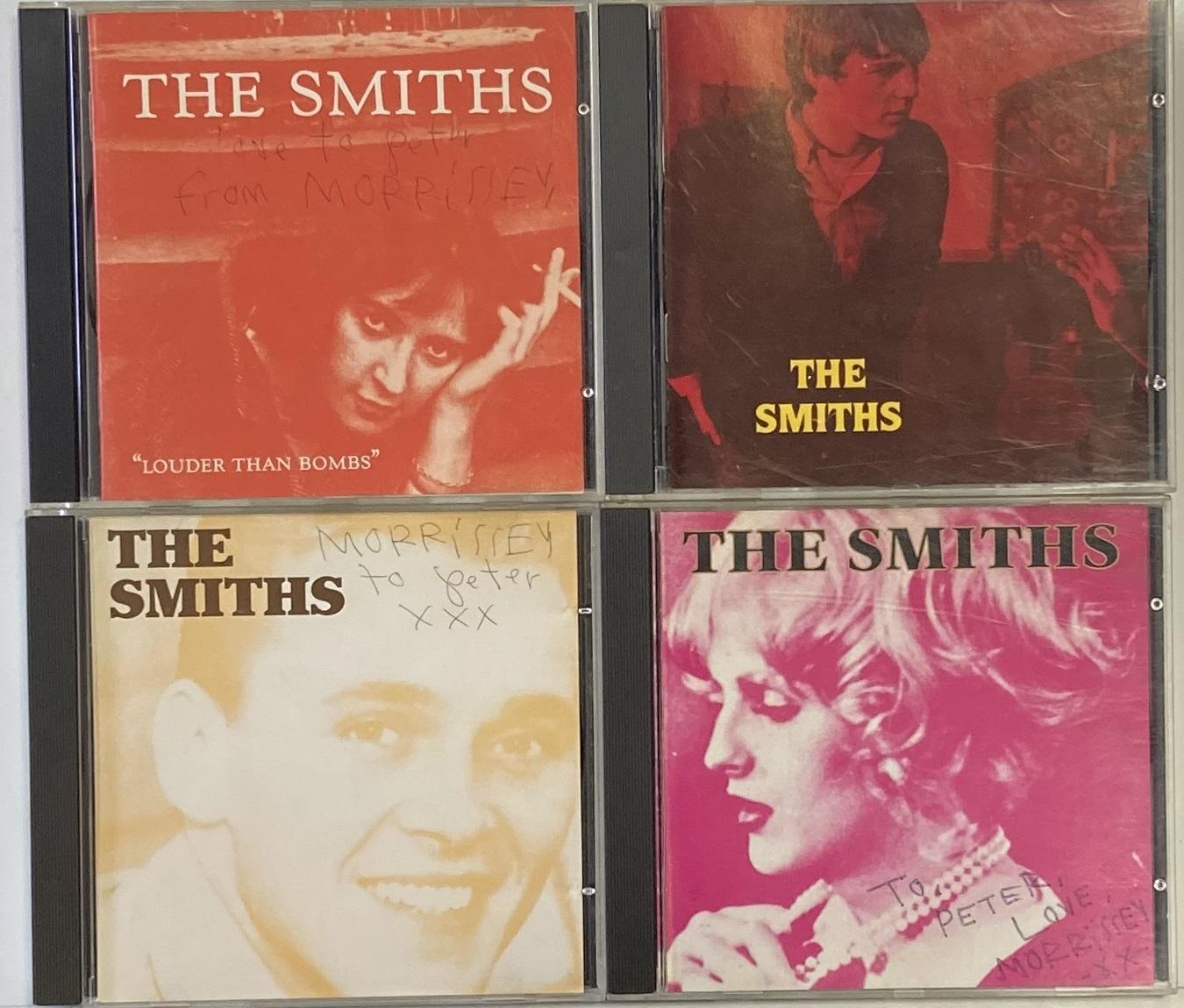 Morrissey signed CDs to Pete Hogg (iv).jpg