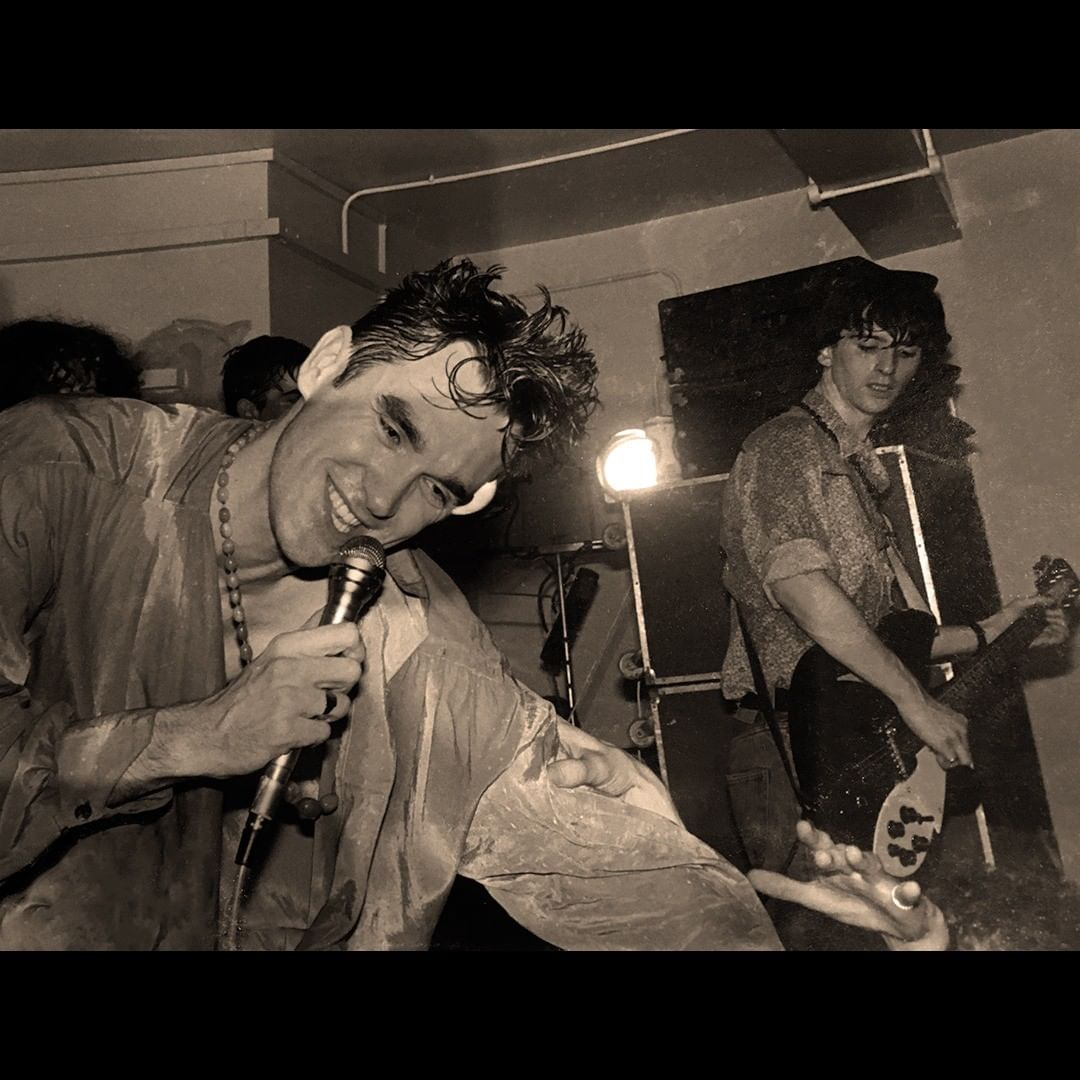The Smiths Morrissey Marr Liverpool 1983.jpg