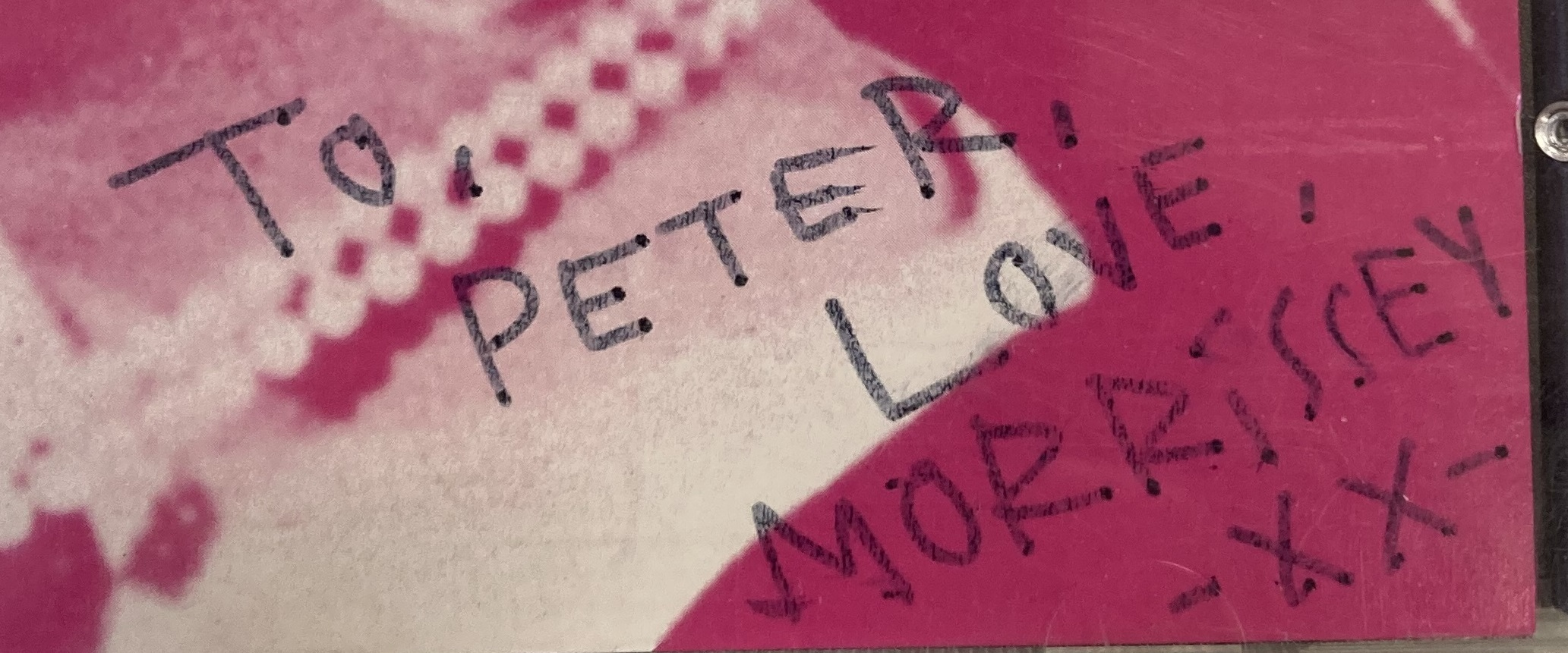 Morrissey signed CDs to Peter (vii).jpg