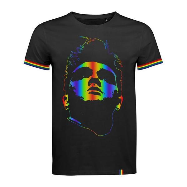 Rainbow Foil Face T-Shirt.jpg