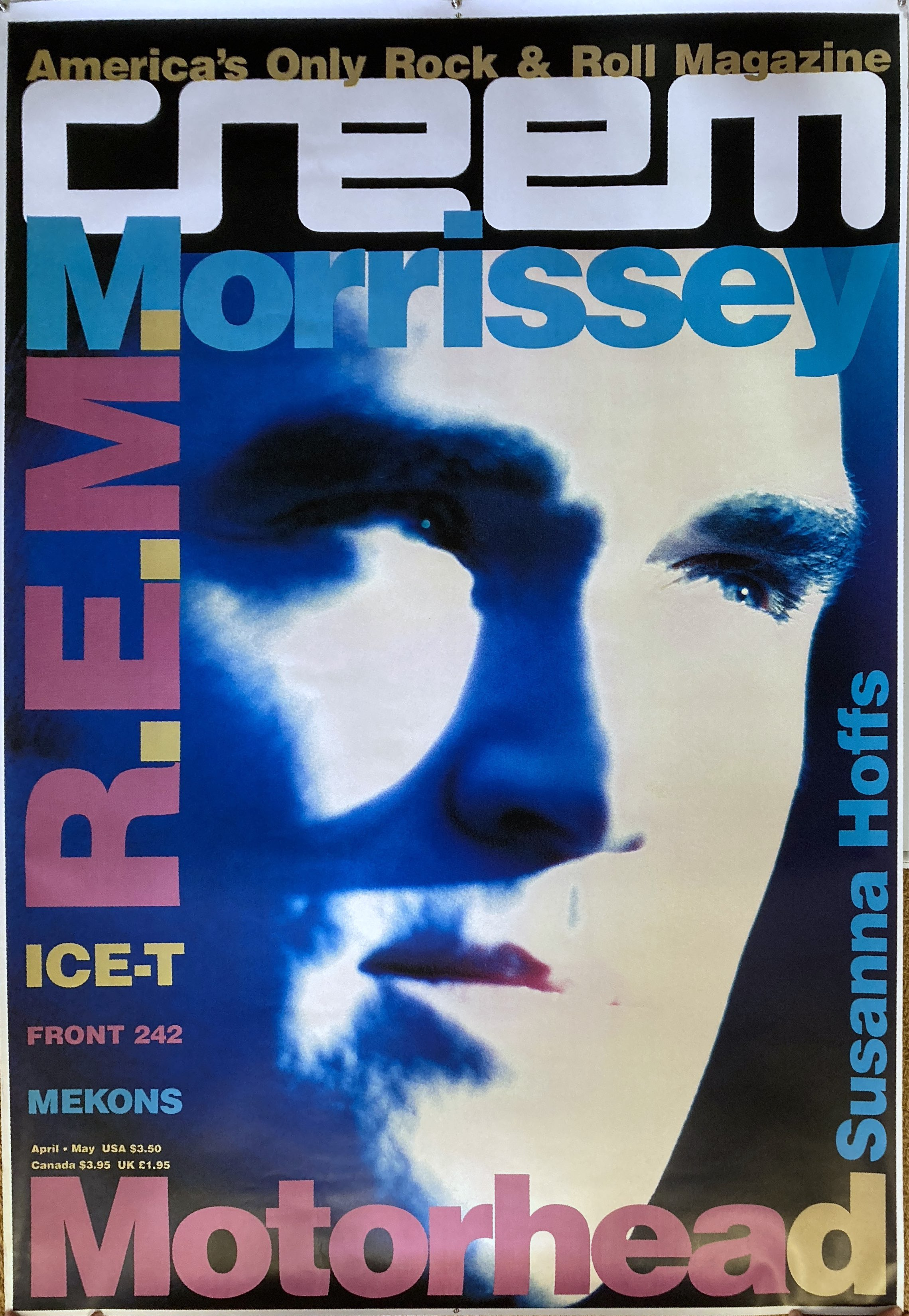Morrissey Creem huge poster 1991.jpg