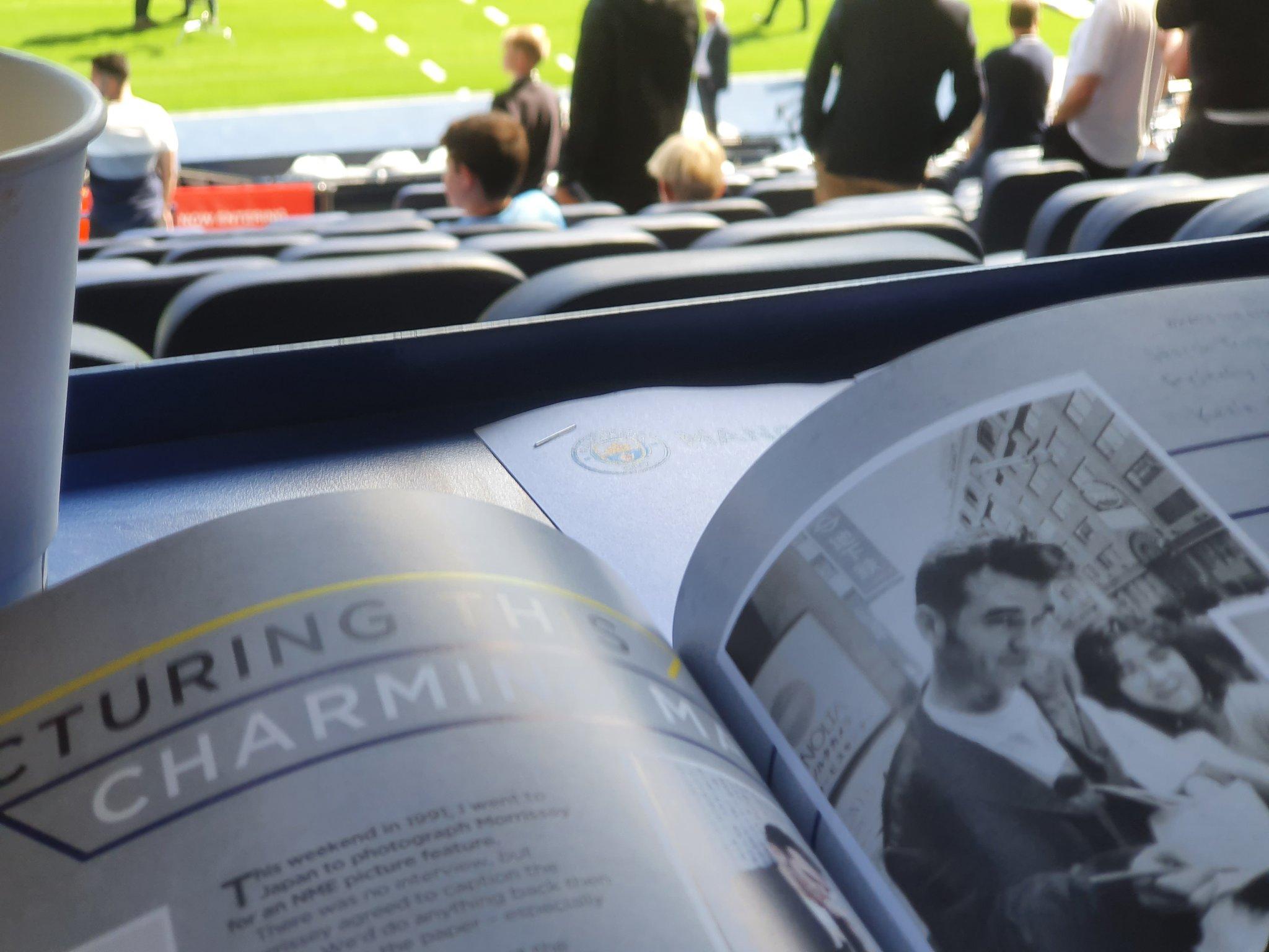 Morrissey KC Man City vs Arsenal matchday programme 28th August 2021.jpg