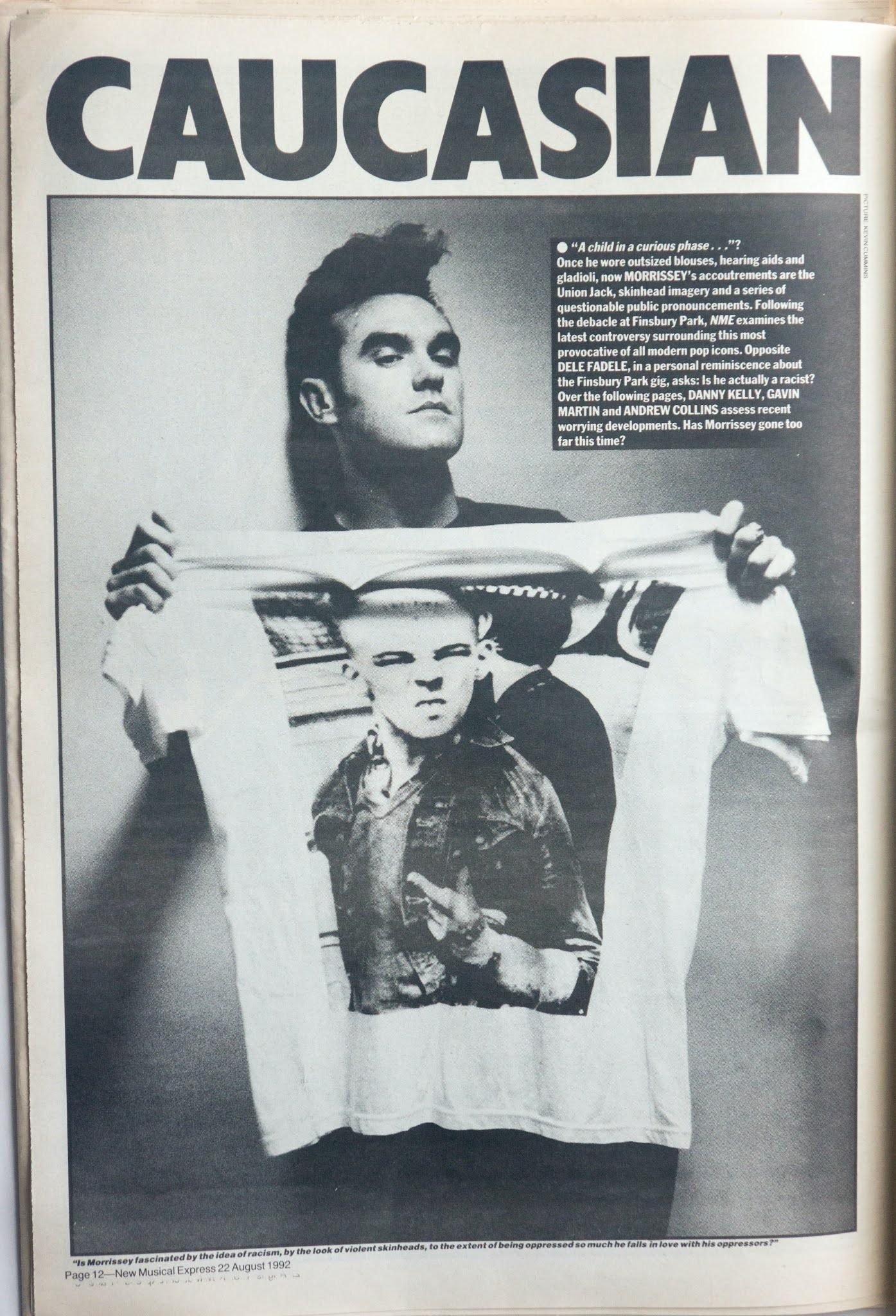 1992 08 22 Morrissey NME 01.jpg